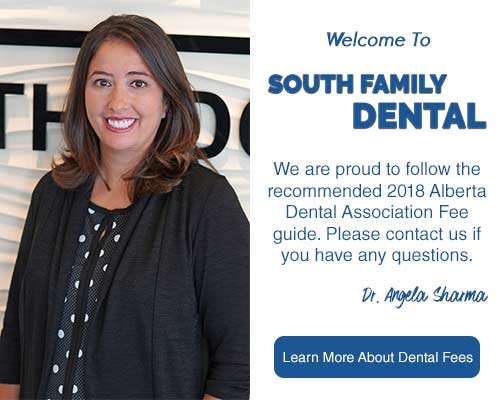 South Family Dental Care Fee Guide