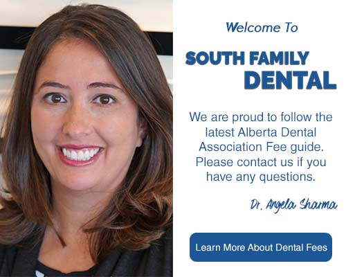 South Family Dental follows 2020 Dental Fee Guide